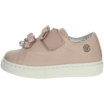 Chaussures Fille Baskets basses Blumarine A0519 Poudre rose