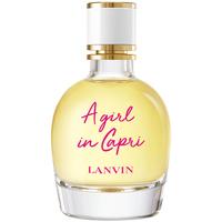 Beauté Femme Eau de toilette Lanvin A Girl In Capri Edt Vaporisateur  90 ml