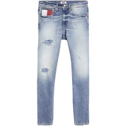 Vêtements Homme Jeans slim Tommy Jeans - Jeans blu DM0DM07337-1AB BLU