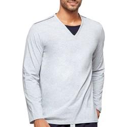Vêtements Homme Pyjamas / Chemises de nuit Impetus Haut de pyjama homme en coton bio Gris