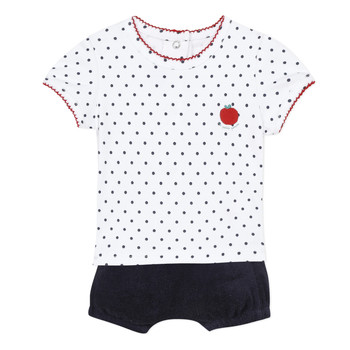 Vêtements Fille Ensembles enfant Absorba ADELE Marine