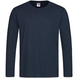 Vêtements Homme T-shirts manches longues Stedman Classics Bleu nuit