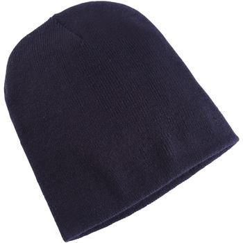 Accessoires textile Bonnets Yupoong YP013 Bleu marine