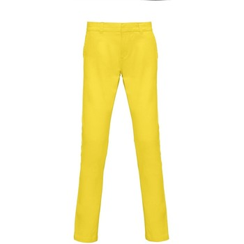 Vêtements Femme Chinos / Carrots Asquith & Fox Chino Citron