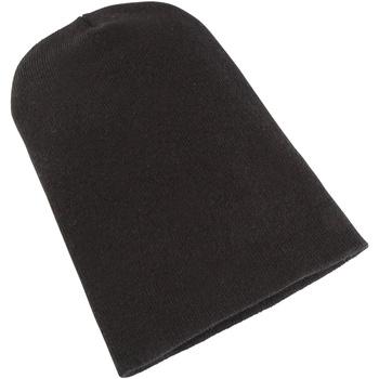 Accessoires textile Bonnets Yupoong Beanie Noir