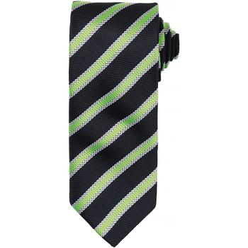 Vêtements Homme Cravates et accessoires Premier PR783 Noir/Vert citron
