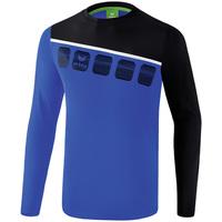 Vêtements Homme Ensembles de survêtement Erima Haut d'entrainement manches longues  5-C bleu marine/noir/blanc
