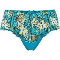 Sous-vêtements Femme Shorties & boxers Pommpoire Shorty imprimé turquoise Elena Bleu