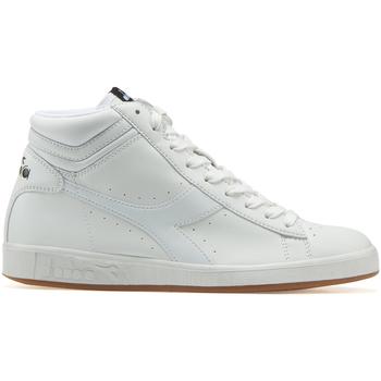 Chaussures Baskets montantes Diadora GAME P HIGH Blanc