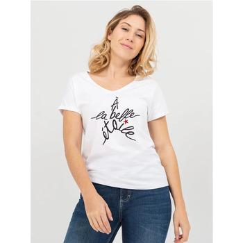 Vêtements Femme T-shirts manches courtes TBS MESSATEE Blanc