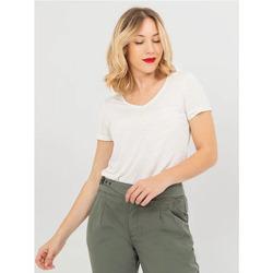 Vêtements Femme T-shirts manches courtes TBS ELODITEE Arctique