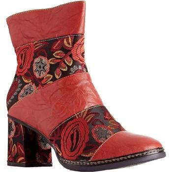 Chaussures Femme Bottines Laura Vita elcianeo 02 rouge
