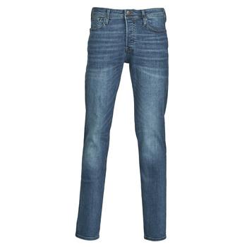 Vêtements Homme Jeans slim Jack & Jones JJITIM Bleu foncé