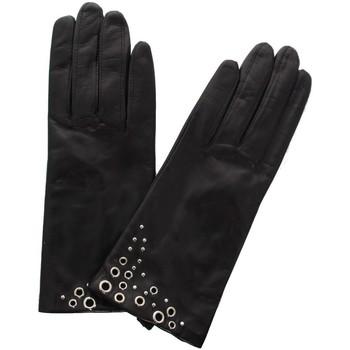 Accessoires textile Femme Gants Glove Story Gants cuir  ref_47573 100 Noir Noir