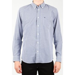 Vêtements Homme Chemises manches longues Wrangler 1 PKT Shirt W5929M8DF niebieski, biały