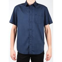 Vêtements Homme Chemises manches courtes Wrangler S/S 1PT Shirt W58916S35 granatowy