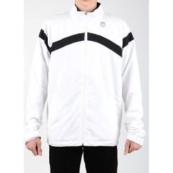 Vêtements Homme Vestes de survêtement K-Swiss Accomplish WVN JCKT 100627-102 biały, czarny