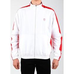Vêtements Homme Vestes de survêtement K-Swiss Accomplish Jacket 100250-119 biały, czerwony