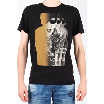 Vêtements Homme T-shirts manches courtes Lee Photo Tee Black L60BAI01 czarny