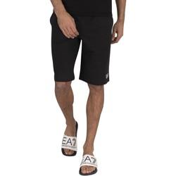 Vêtements Homme Shorts / Bermudas Emporio Armani EA7 Bermuda Sweat Sweat Shorts noir