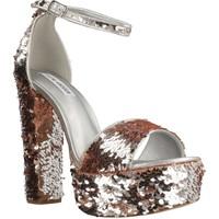 Chaussures Femme Sandales et Nu-pieds Steve Madden GONZO1 Argent
