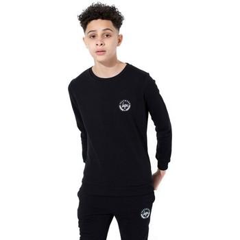 Vêtements Enfant T-shirts manches longues Hype  Noir