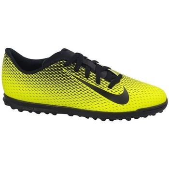 Chaussures Enfant Football Nike JR Bravatax II TF Noir,Jaune