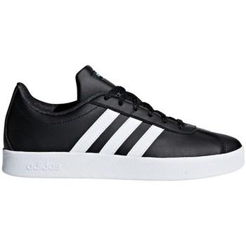 Chaussures Enfant Baskets basses adidas Originals VL Court 20 K Noir