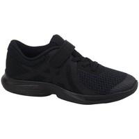 Chaussures Enfant Baskets basses Nike Revolution 4 PS Noir