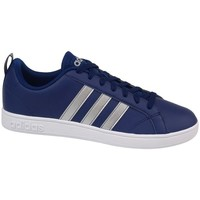 Chaussures Homme Baskets basses adidas Originals VS Advantage Blanc,Bleu marine