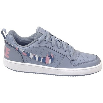 Chaussures Enfant Baskets basses Nike Court Borough Low GS Gris