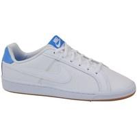 Chaussures Enfant Baskets basses Nike Court Royale GS Blanc, Bleu