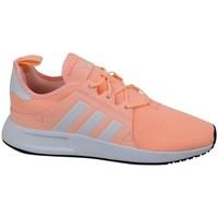 Chaussures Fille Baskets basses adidas Originals X Plr C Gris,Orange