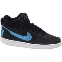 Chaussures Enfant Baskets montantes Nike Court Borough Mid EP GS Noir
