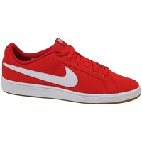 Chaussures Homme Baskets basses Nike Court Royale Canvas Blanc,Rouge