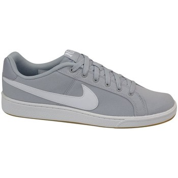 Chaussures Homme Baskets basses Nike Court Royale Canvas Gris