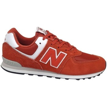 Chaussures Enfant Baskets basses New Balance GC574EC Rouge