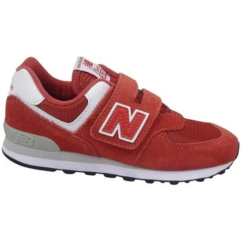 Chaussures Enfant Baskets basses New Balance YV574EC Rouge