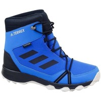 Chaussures Garçon Bottes de neige adidas Originals Terrex Snow CP CW K Noir, Bleu