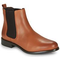 Chaussures Femme Boots André CARAMEL Cognac