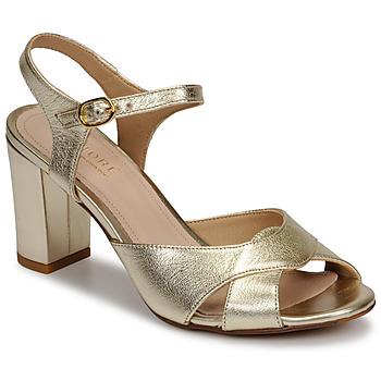 Chaussures Femme Sandales et Nu-pieds André JESS Doré