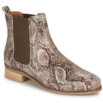 Chaussures Femme Boots André PANACOTTA Beige