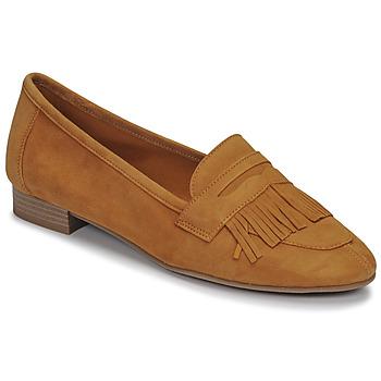 Chaussures Femme Mocassins André BARCELONA Jaune