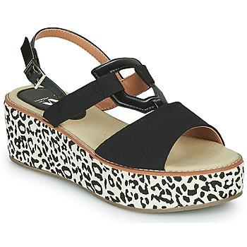 Chaussures Femme Sandales et Nu-pieds Vanessa Wu MIGLOS Noir