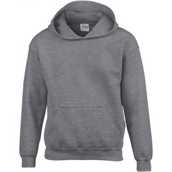 Vêtements Enfant Sweats Gildan 18500B Gris foncé chiné