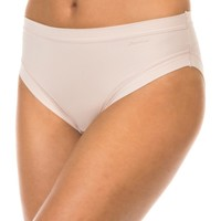 Sous-vêtements Femme Slips Janira Braguita Micro fibre Beige