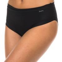 Sous-vêtements Femme Slips Janira Braguita Micro fibre Noir