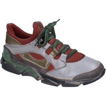 Chaussures Femme Baskets basses Moma BP906 gris