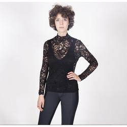 Vêtements Femme Tops / Blouses Yours-Paris LOUISA NOIR
