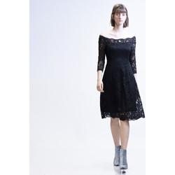 Vêtements Femme Robes courtes Yours-Paris IRENNE NOIR